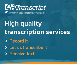 GoTranscript Banner