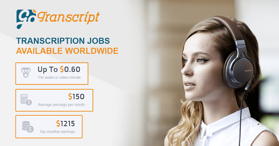 Freelance transcription jobs from home