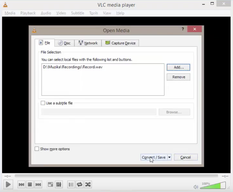 How to Convert Audio Files with VLC Media Player