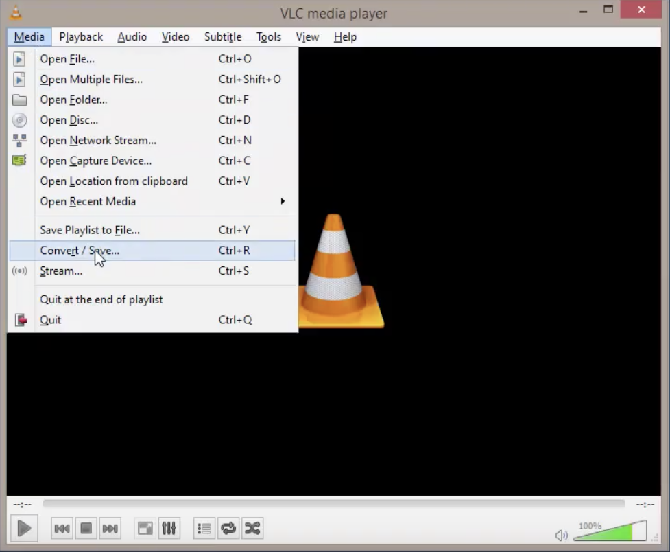 how to convert mp4 video to mp3 using vlc media player